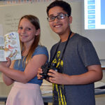 Windham middle schoolers learn about birds