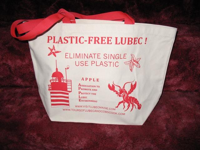 Plastic-free Lubec bag