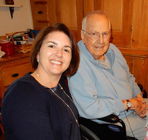 Kate Rush (Newport) with Bill Townsend (Skowhegan)