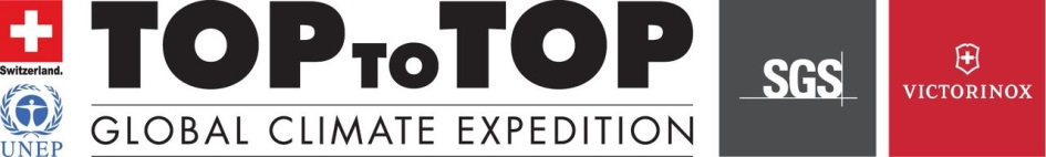 TOPtoTop global climate expedition logo