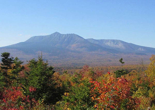 Our view of Katahdin. Photo by Annie Winchester