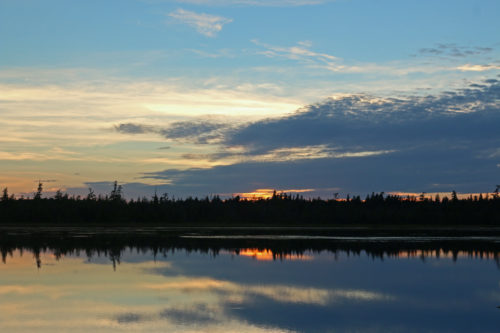 Sunset on the Allagash Wilderness Waterway