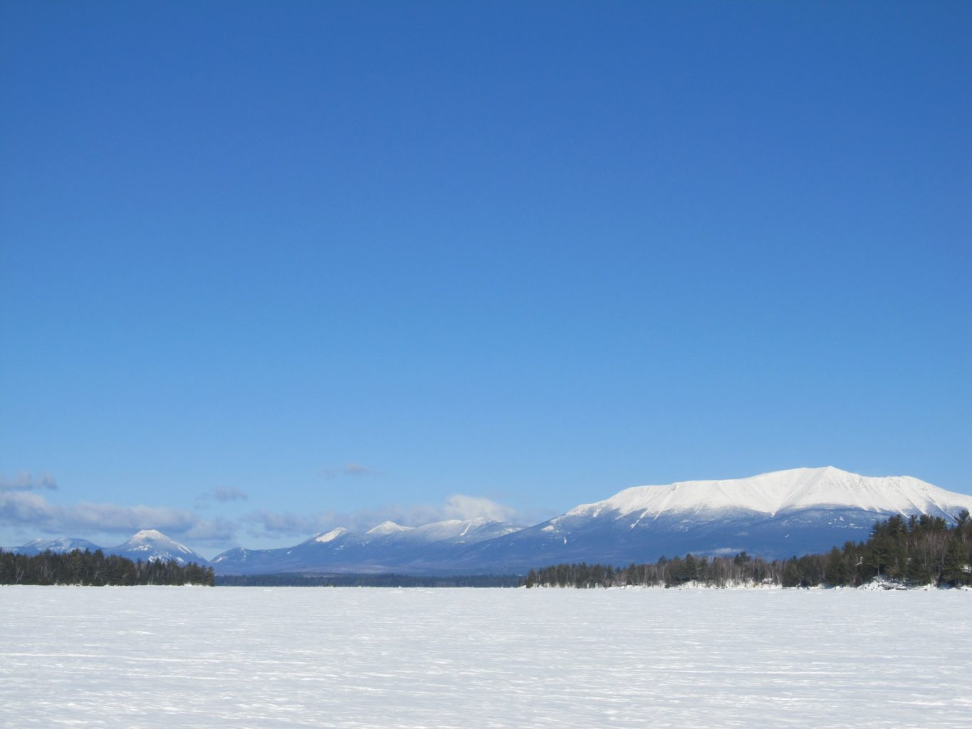 Baxter State Park in February 2017