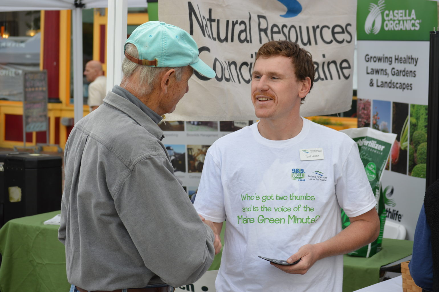 NRCM's Todd Martin at Greenfest