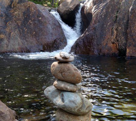 Smalls Falls in Madrid, Maine.