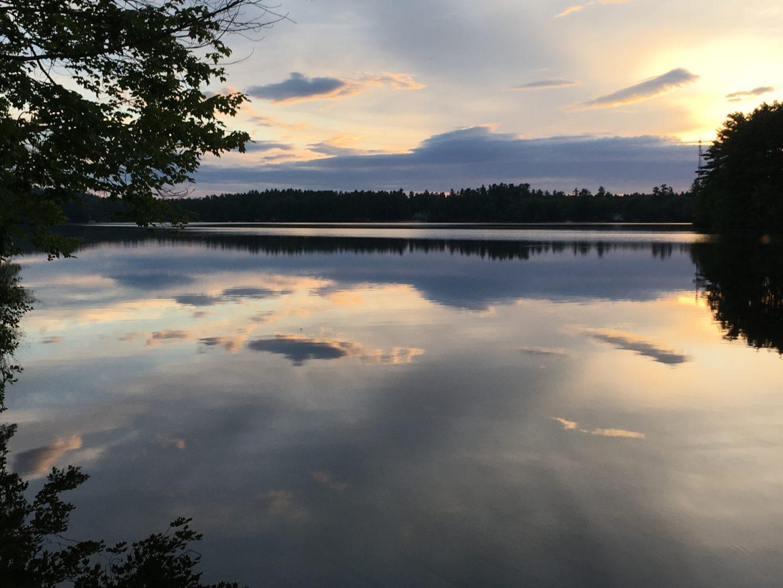 Crystal Lake Gray by Rebecca Hewitt