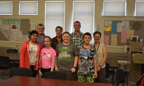 Windham Middle School Students Help Reduce School Waste
