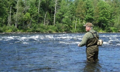 fly fishing northern Maine