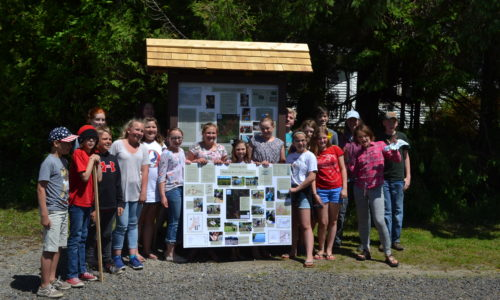 A Great Year of Learning about Maine's Environment by Middle School Students