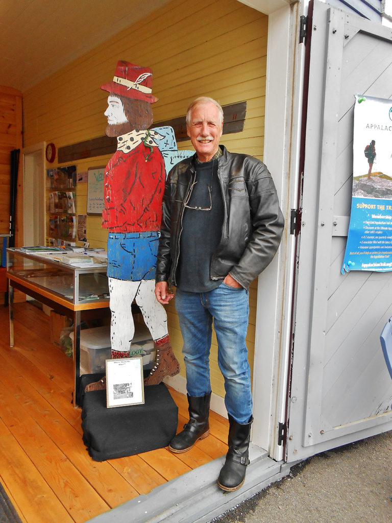 Senator Angus King in Monson Maine
