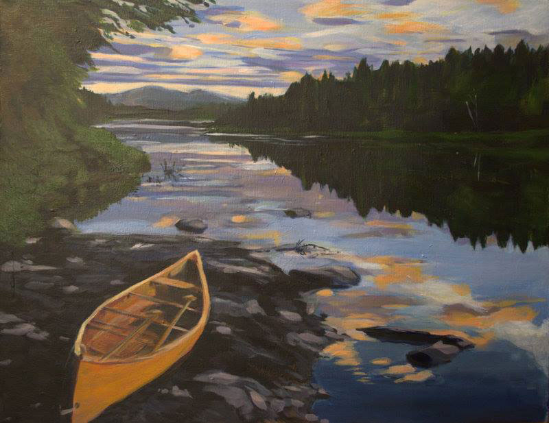 2016 Allagash Award art by Laurie Burhoe