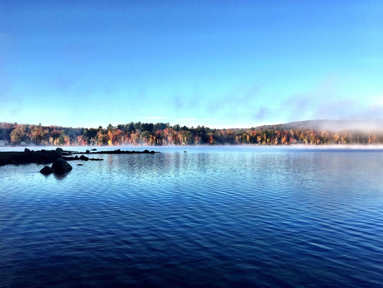 Wilson Lake in Wilton