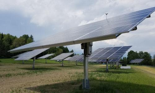 solar panels in Aroostook County