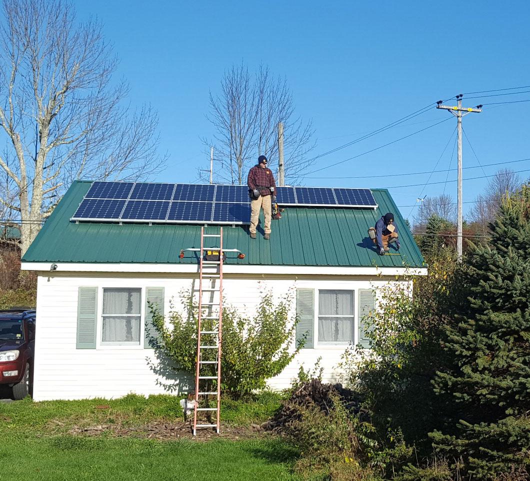 ReVision starting solar installation at Nick's