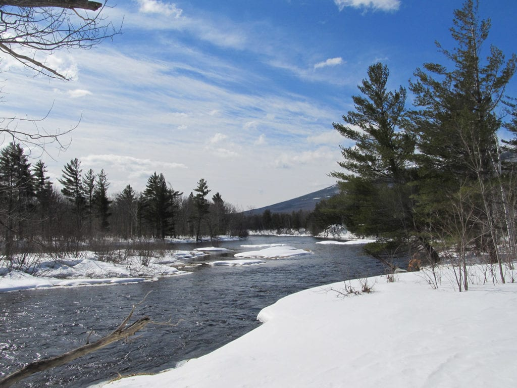 East Branch of Penobscot River in the Katahdin Woods and Waters National Monument