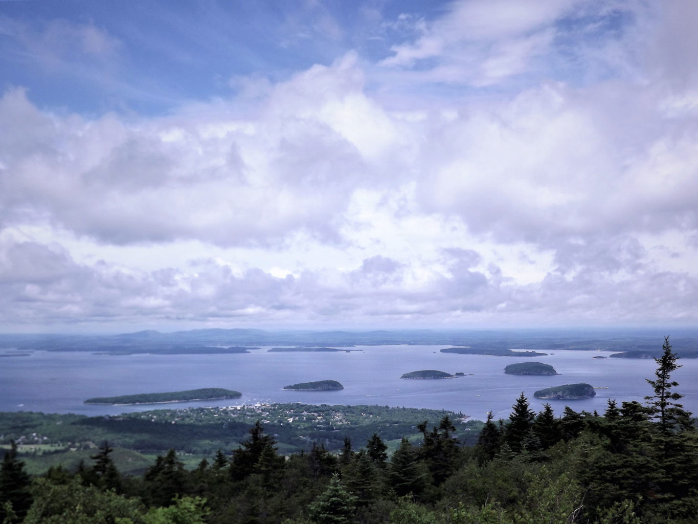 The iconic view of Bar Harbor that we all love so much