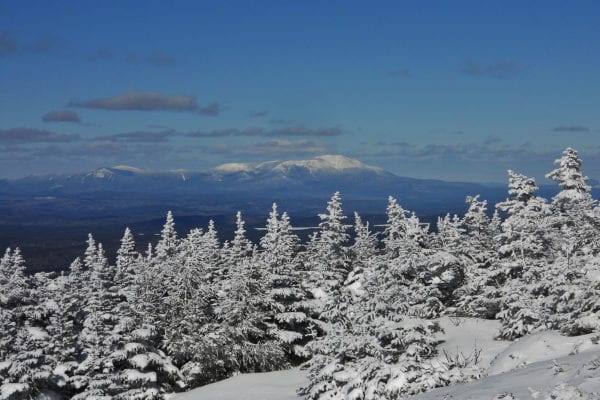 View of Katahdin by Wendy Weiger
