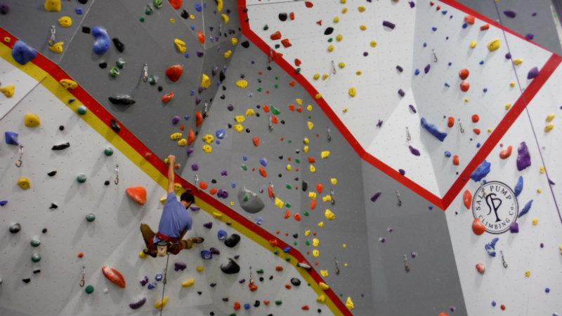 Salt Pump rock climbing gym