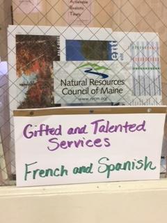 Loranger Memorial School classroom door