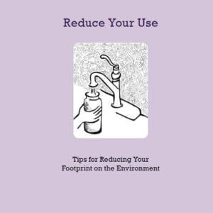 Reduce Your Use brochure