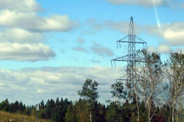 Hydro-Quebec transmission line