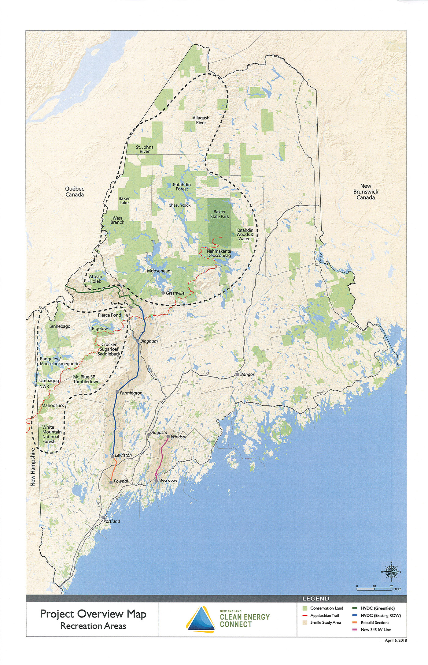 Stephen King Map Of Maine.Cmp Transmission Line Proposal A Bad Deal For Maine