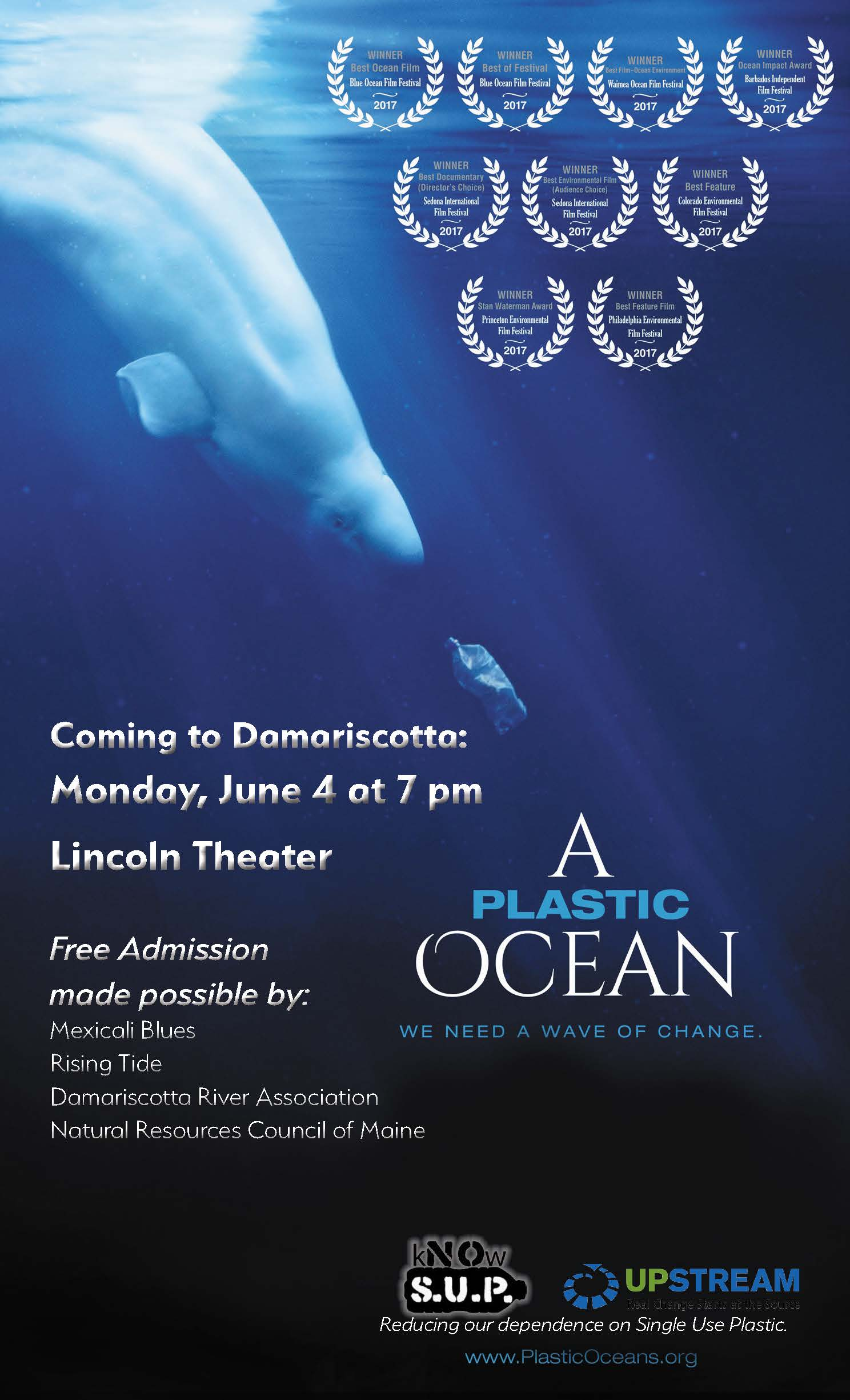A Plastic Ocean movie screening