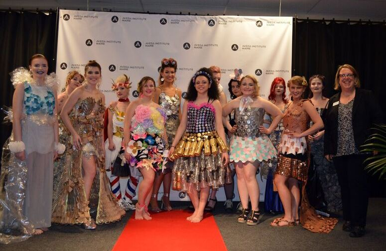 Aveda Institute Trashion Show