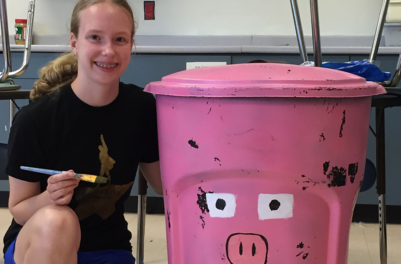 Lessons in Food Waste at Hall-Dale Middle School