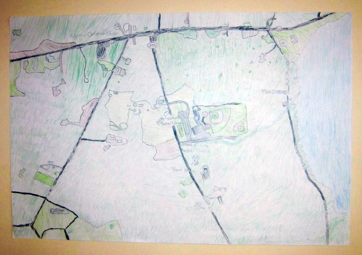 Lincolnville Students Prevent Pollution And Design Watershed Map