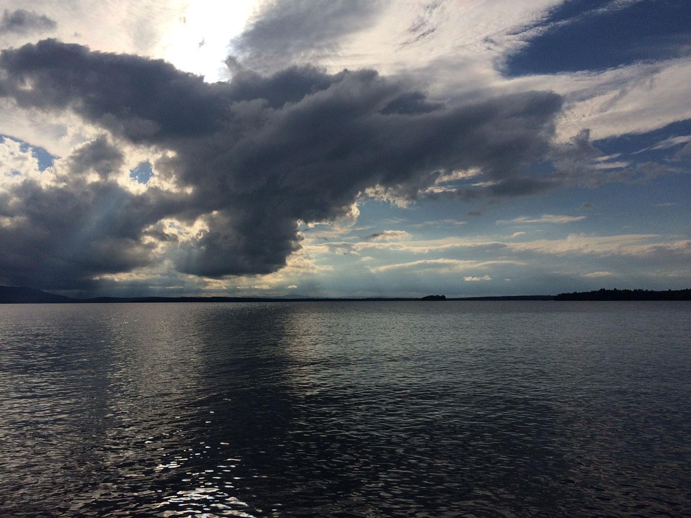 Moosehead Lake by Vivienne Lenk and Walter Mugdan