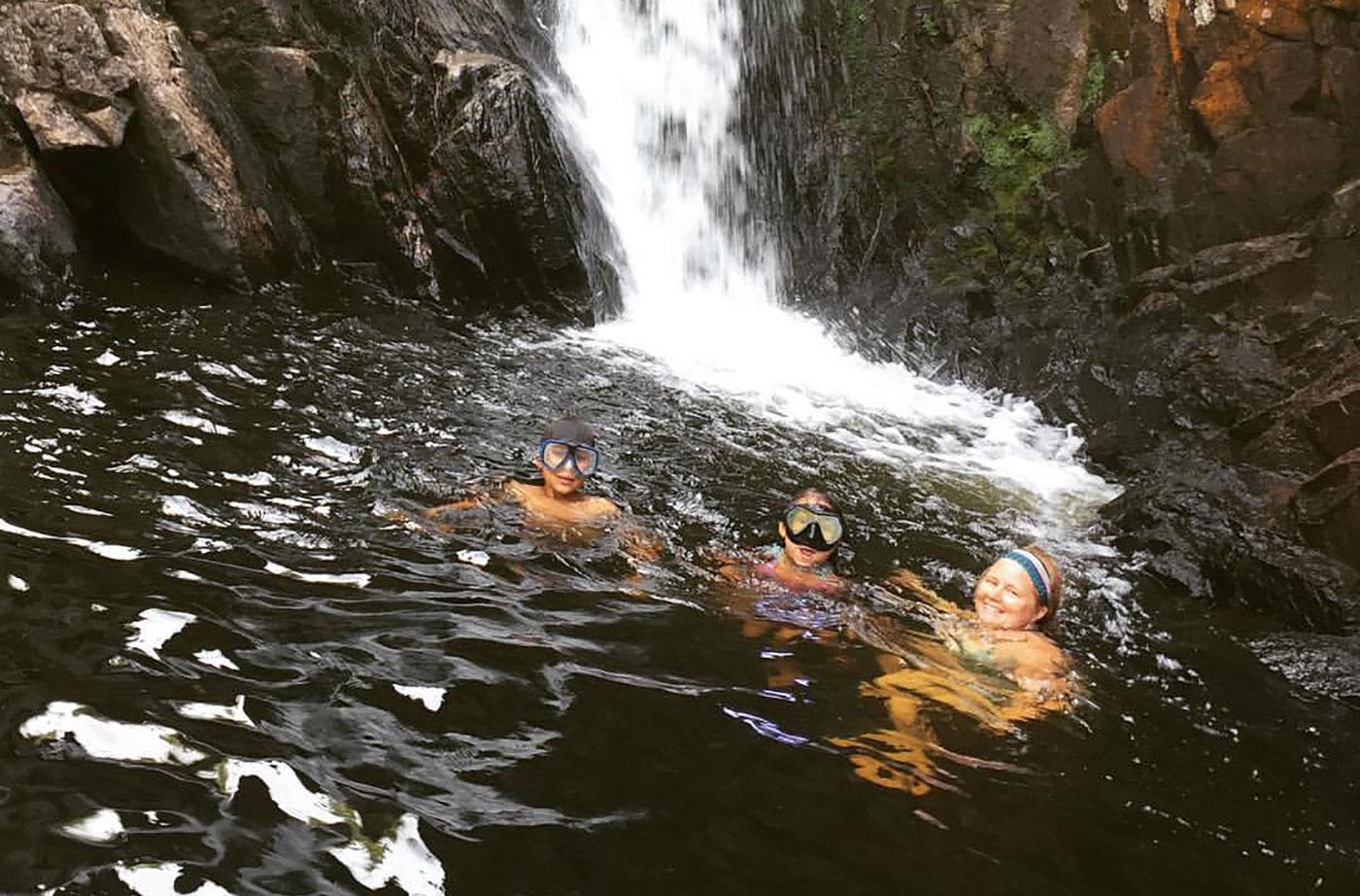 Tumbledown Dick Falls