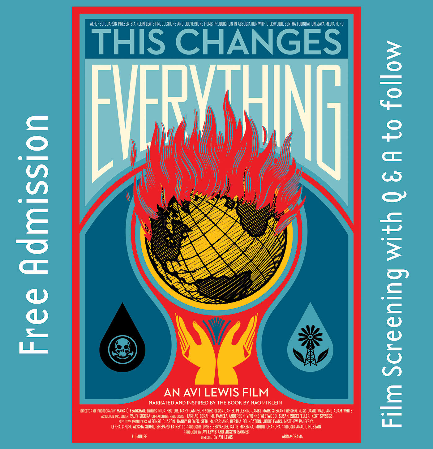 "Sunday, October 14: ""This Changes Everything"" Film, Rockland"
