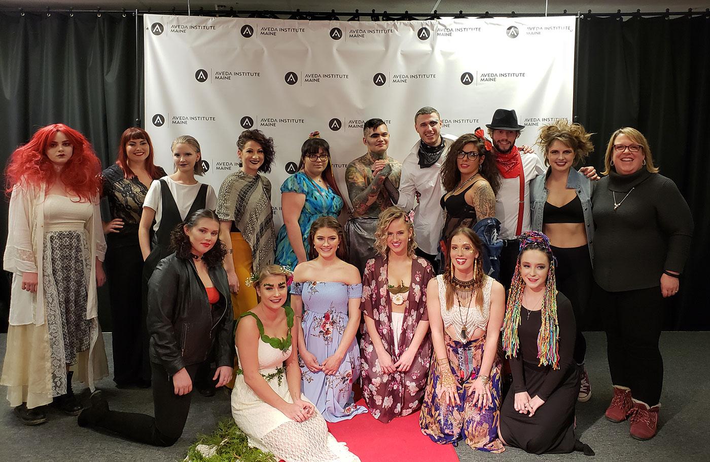 Aveda Institute fashion show 2018