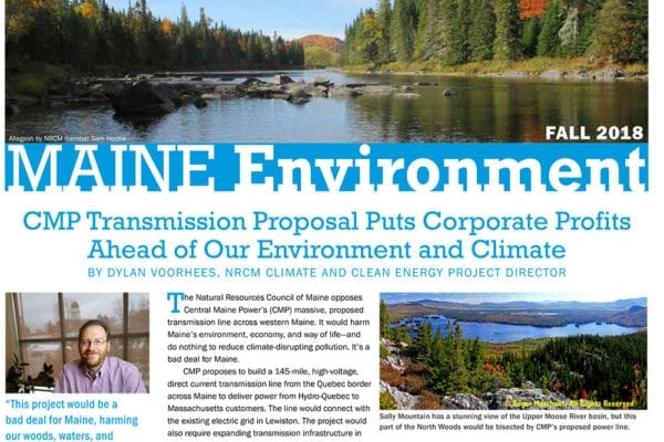 Maine Environment newsletter