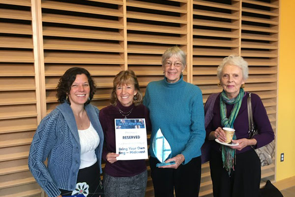 Midcoast BYOB receives award for plastic bag and foam ordinances