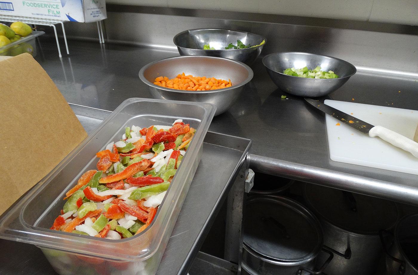 preparing soup in RSU 71