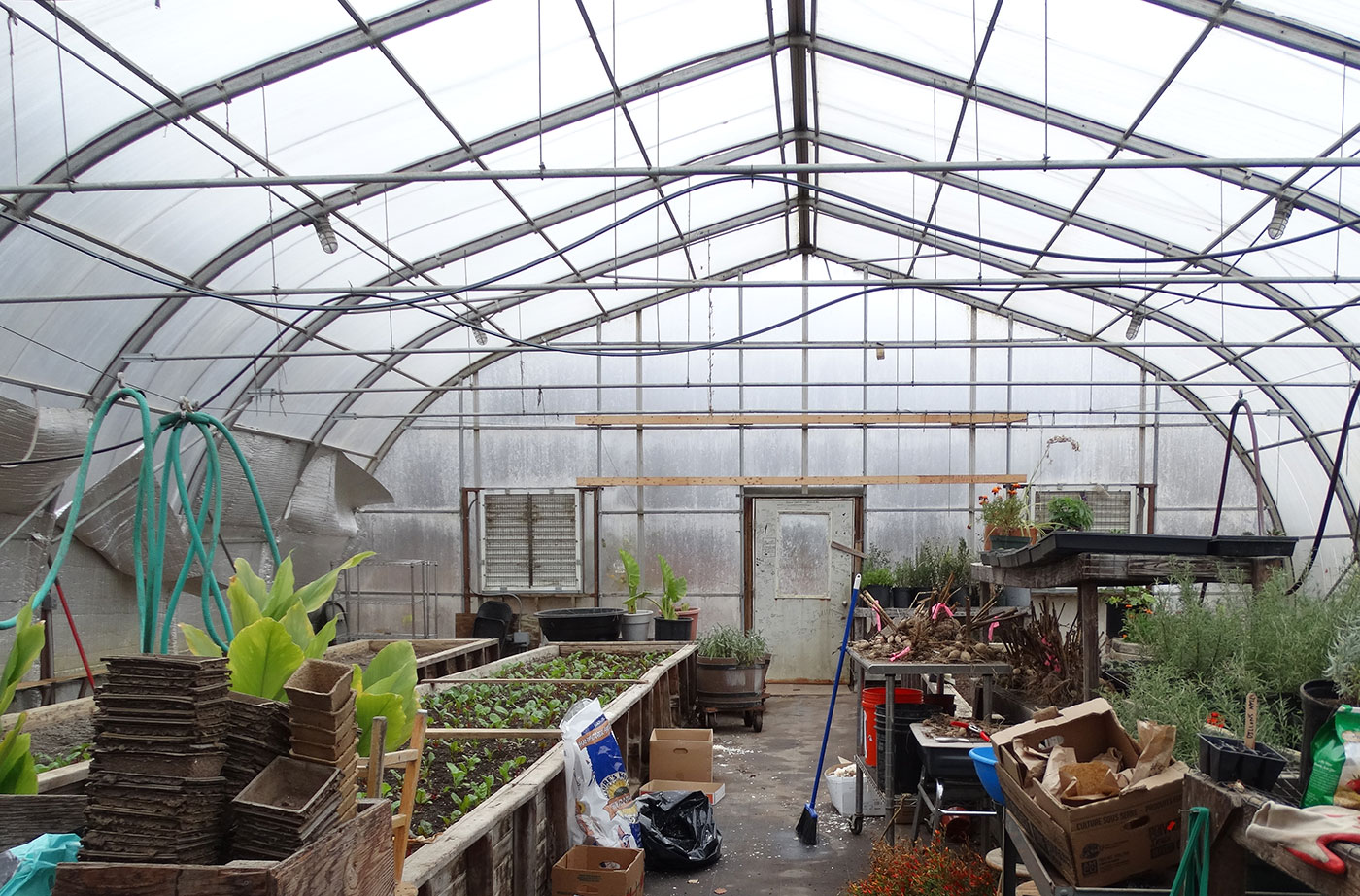 RSU 71 greenhouse