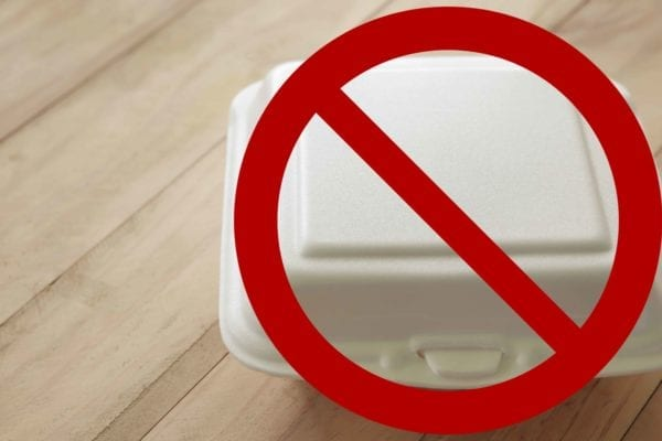 ban foam food containers