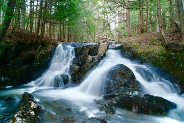 Cascade Falls by Aaron Rivard