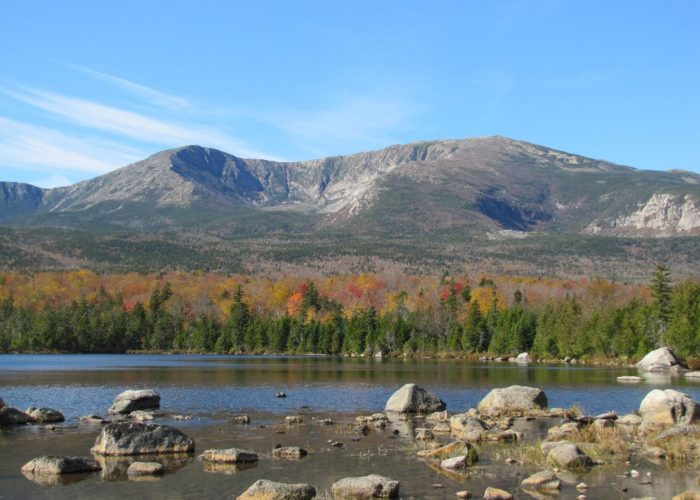 Baxter State Park in fall