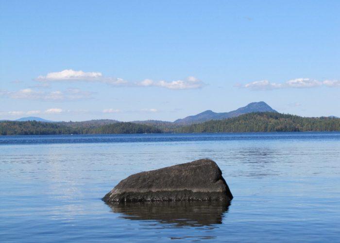 Borestone Mountain from Sebec Lake