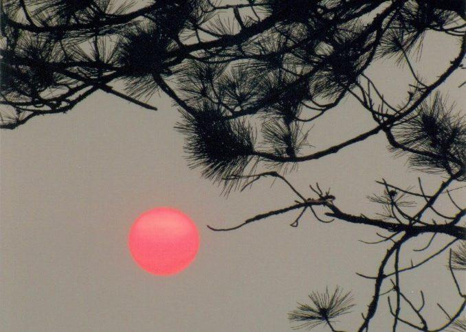Sunset at Sebec Lake