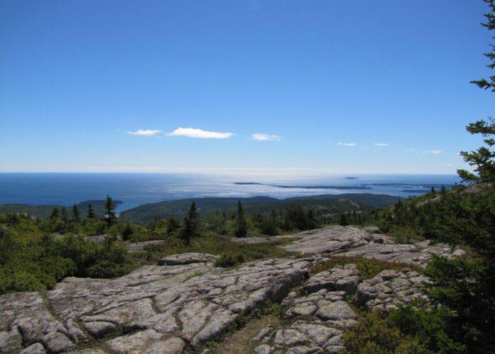 Cadillac Mountain view at Acadia