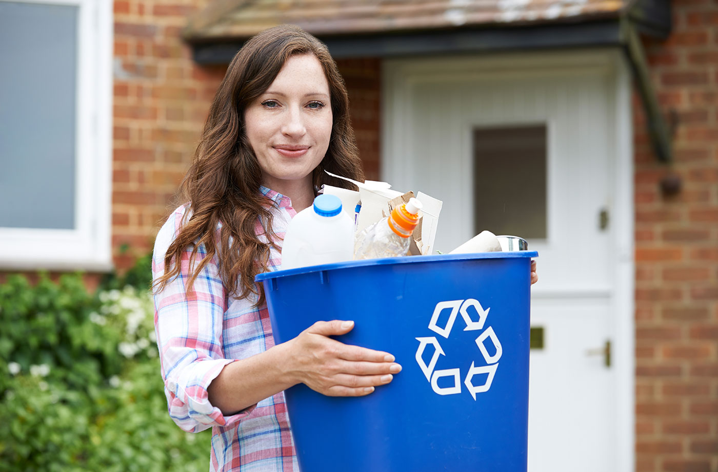 recycling bin
