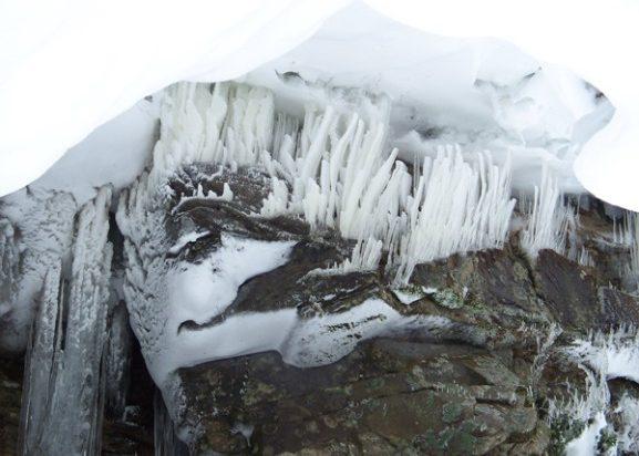 Grafton Notch in winter