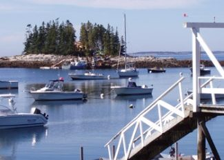 Spruce Point, Boothbay