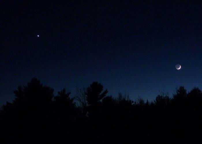 Venus & Moon