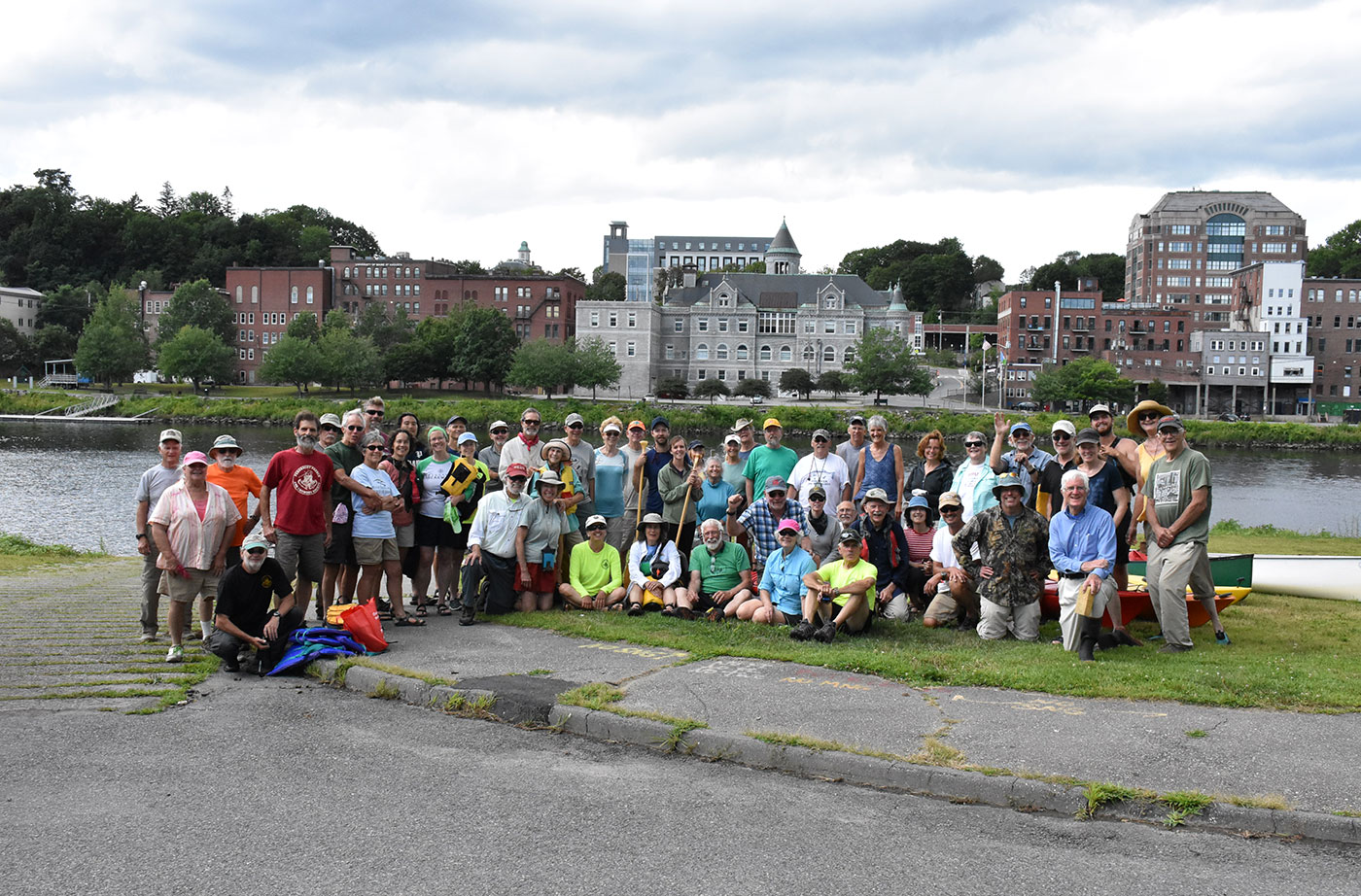 Kennebec paddle group