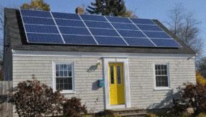 home solar array